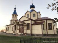 Cerkiew prawosławna w Łosince w Podlaskim