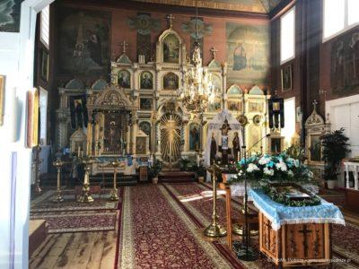 Cerkiew prawosławna w Puchłach wnętrze