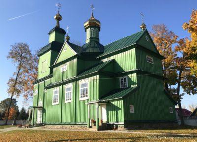Cerkiew prawosławna w Trześciance Podlasie