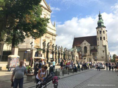 Droga Królewska przez Kraków