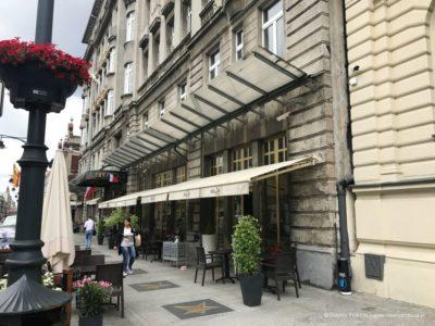 Grand Hotel w Łodzi restauracja