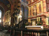 Kościół Mariacki w Krakowie wnętrze