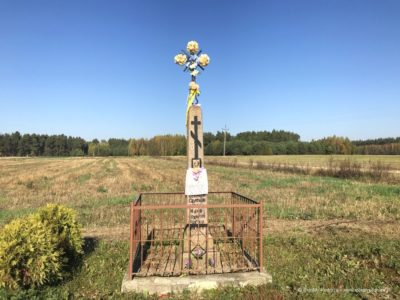 Krzyże wotywne we wsi Soce