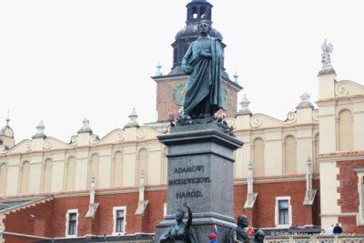 Pomnik Adama Mickiewicza Kraków