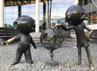 Pomnik Bolka i Lolka w Bielsku-Białej