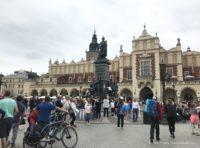 Rynek Główny w Krakowie Mickiewicz