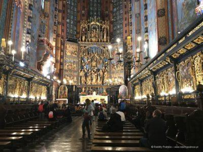 Wielki Ołtarz Wita Stwosza w Krakowie w Bazylice Mariackiej