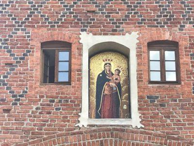 Wysoka Brama w Olsztynie obraz