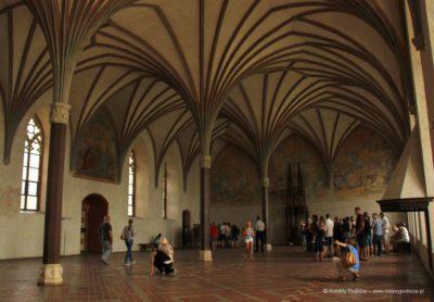 Zamek Krzyżacki w Malborku wnętrze