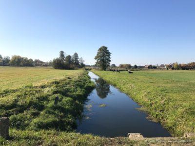 wieś Soce kanał graniczny