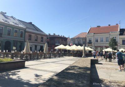 Rynek w Kielcach - atrakcja turystyczna